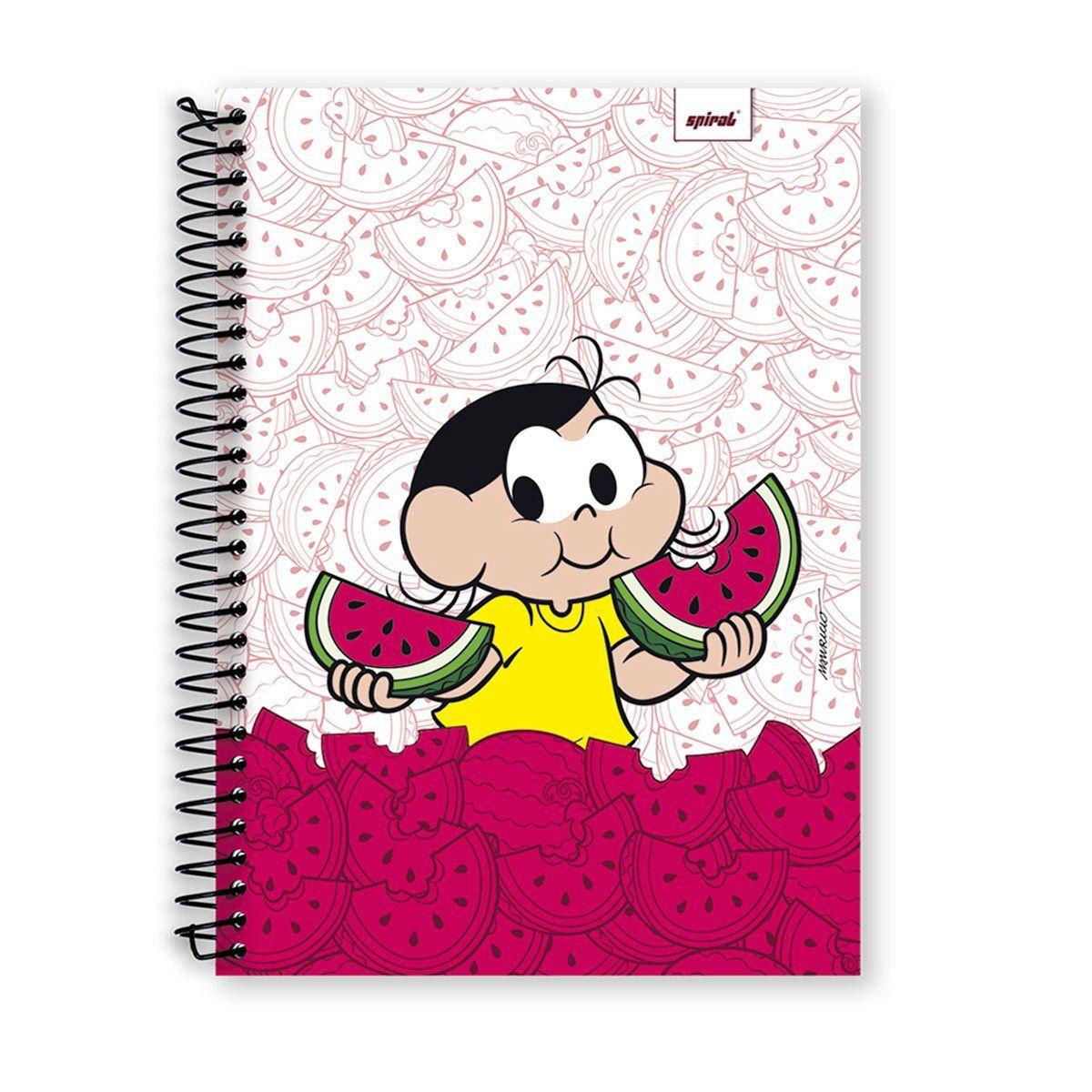 Caderno Turma da Mônica Magali 1 Matéria
