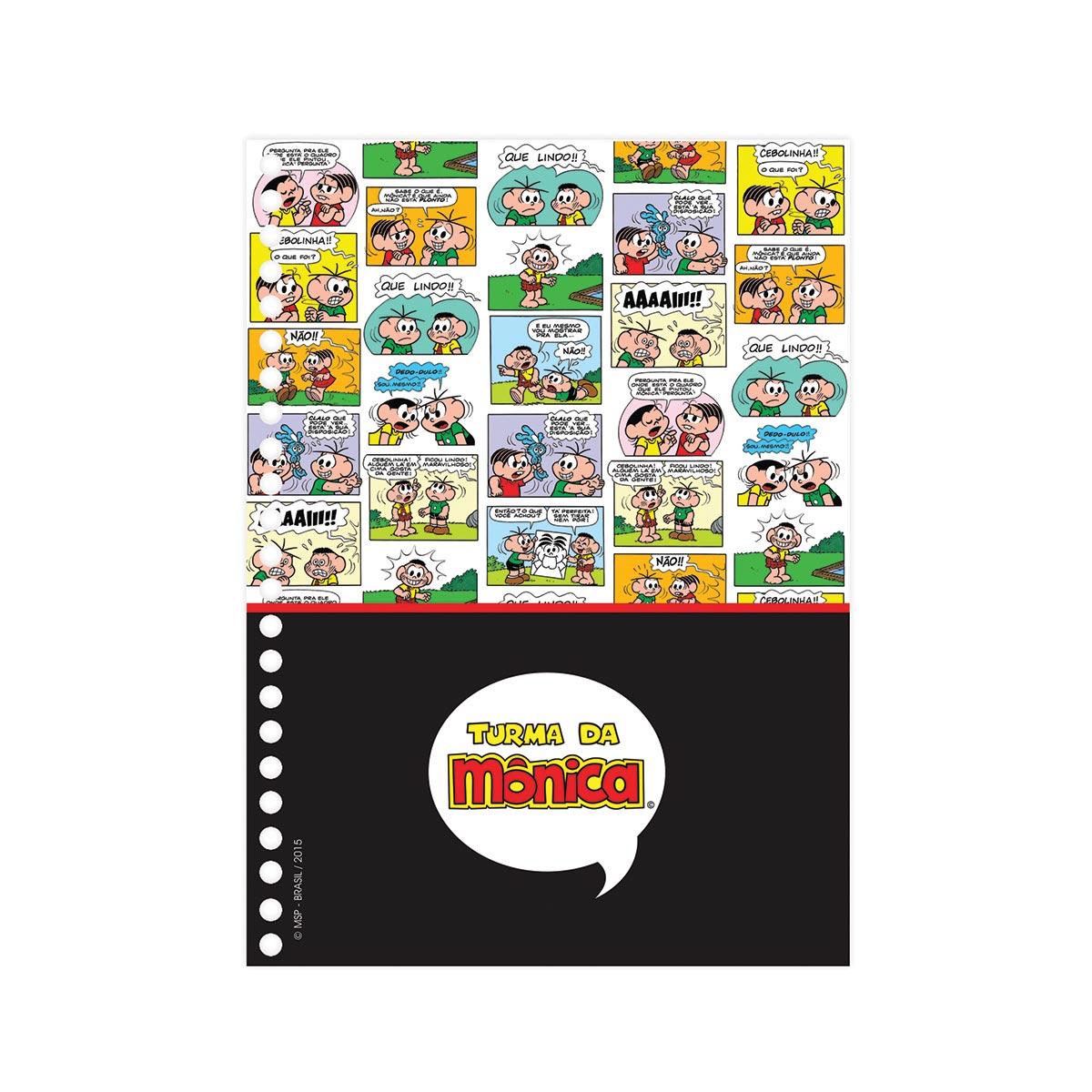 Caderno Turma da Mônica Nós do Cebolinha 10 Matérias