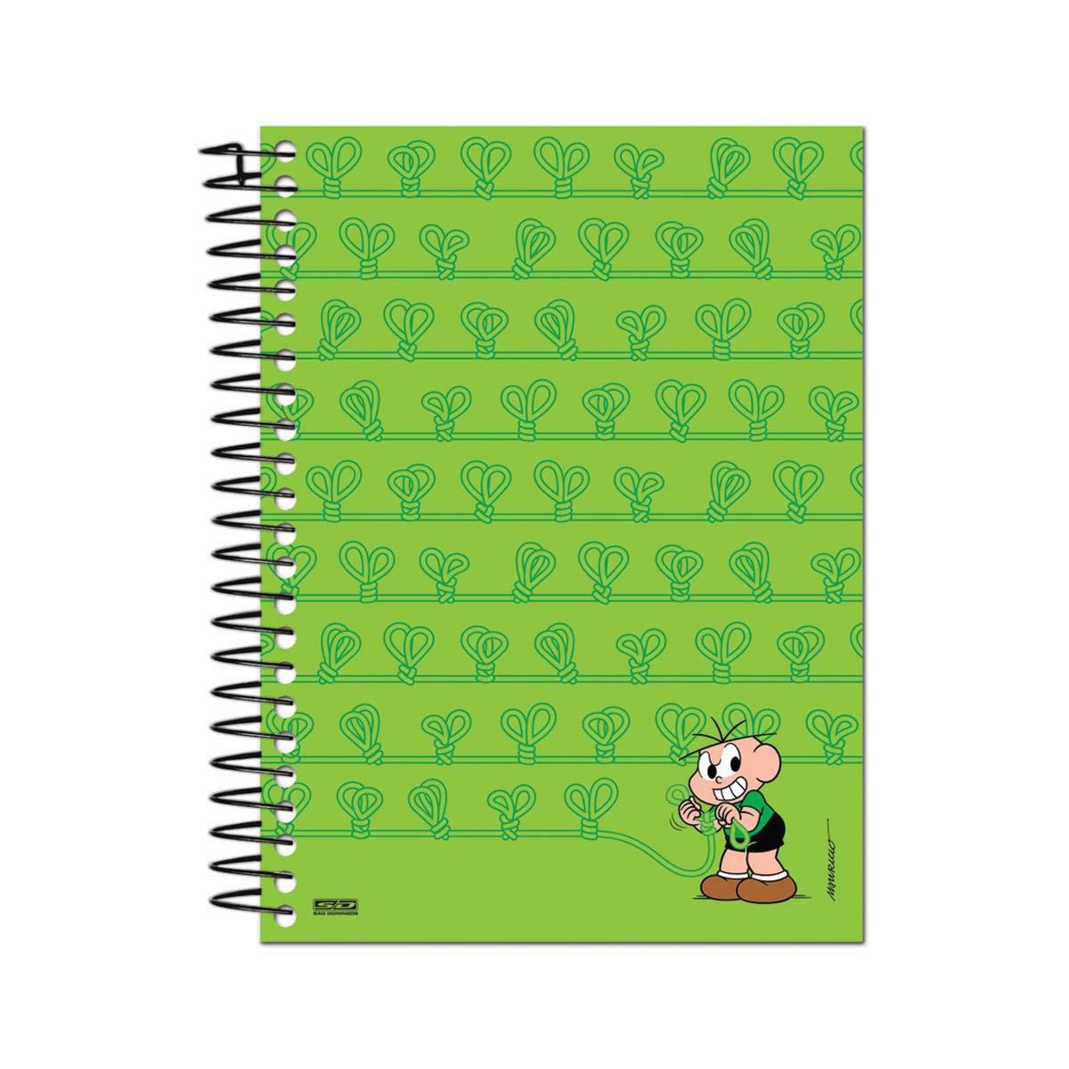 Caderno Turma da Mônica Nós do Cebolinha 1 Matéria