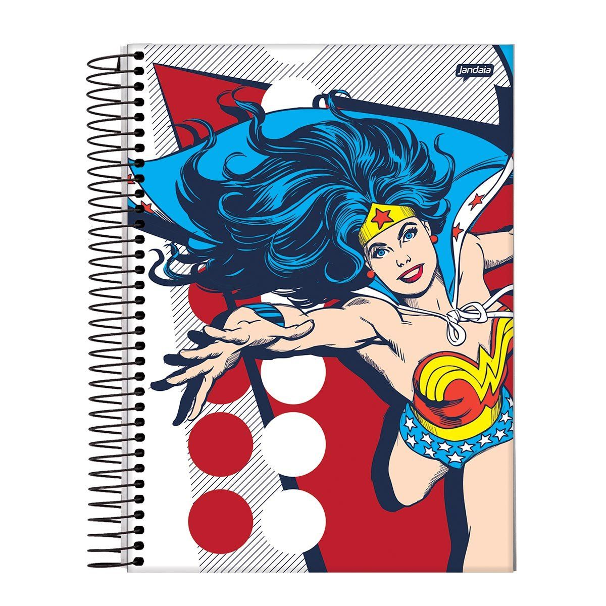 Caderno Wonder Woman Classic HQ Prince Action 1 Matéria