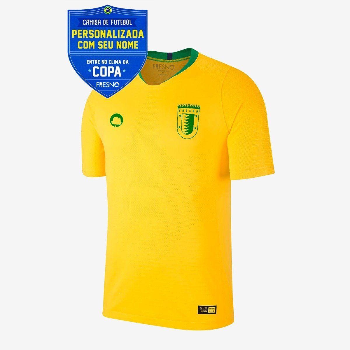 Camisa Copa Fresno Logo Árvore