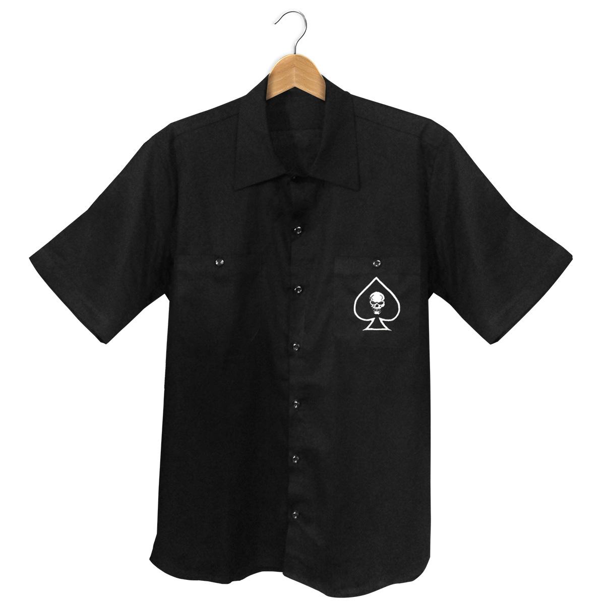 Camisa Manga Curta Hot Rod Custom Motors Co.