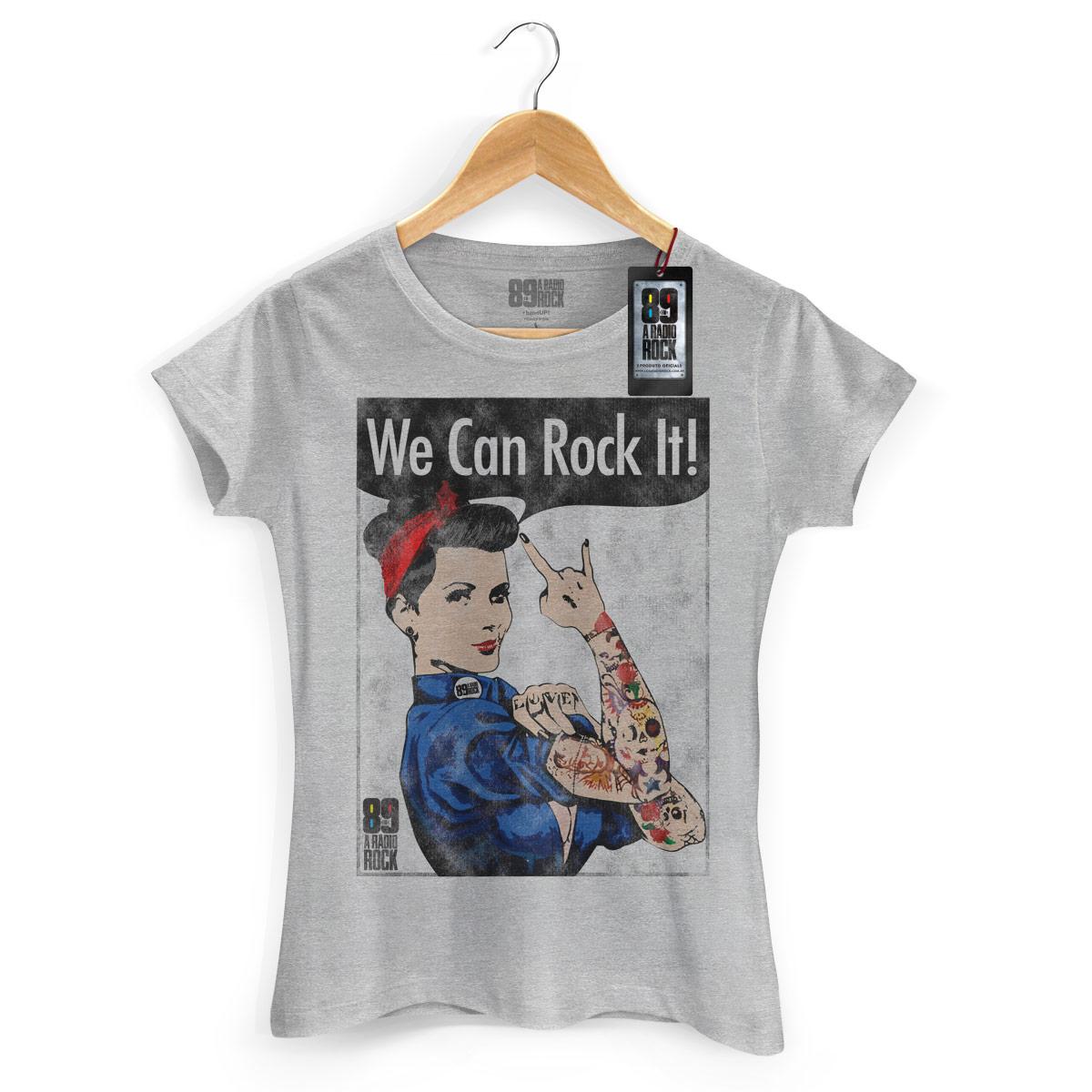 Camiseta Feminina 89FM We Can Rock It!