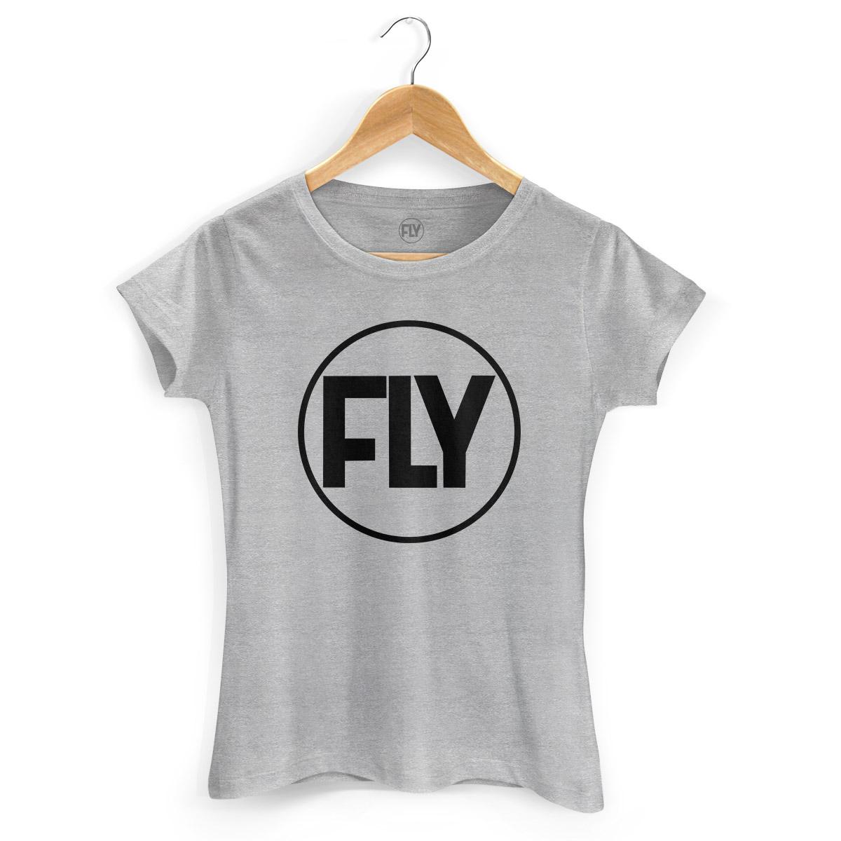 Camiseta Feminina Banda Fly Logo