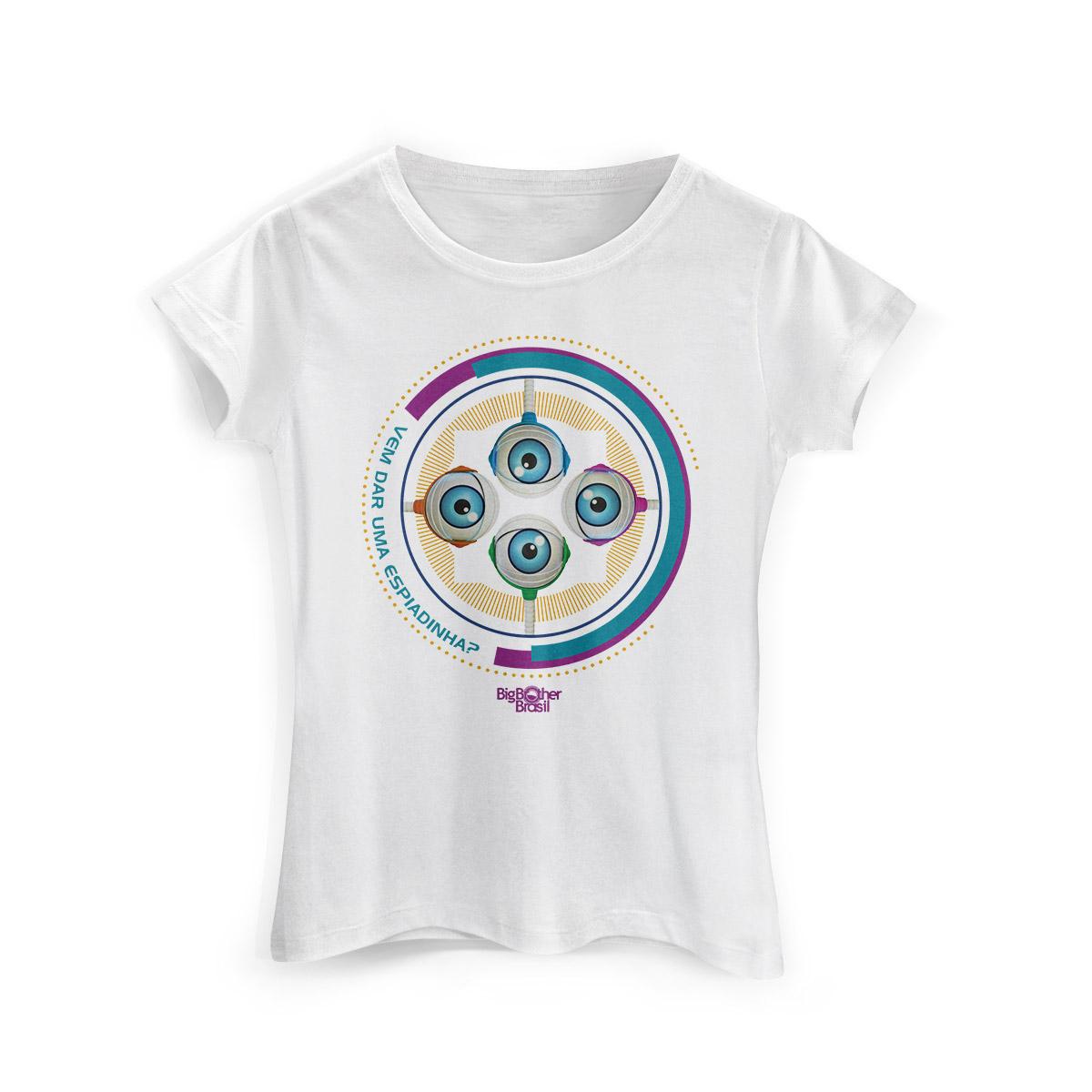 Camiseta Feminina Big Brother Brasil 15 RoBBB Cores Modelo 2