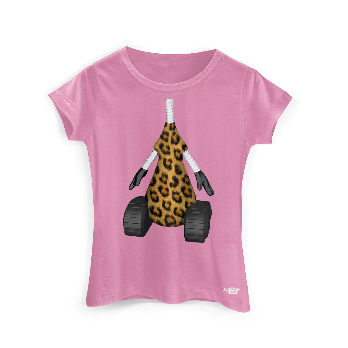 Camiseta Feminina Big Brother Brasil 15 RoBBB Oncinha