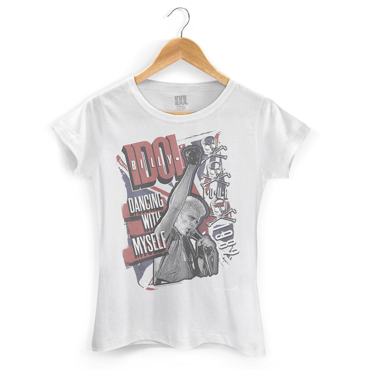 Camiseta Feminina Billy Idol Dancing With Myself