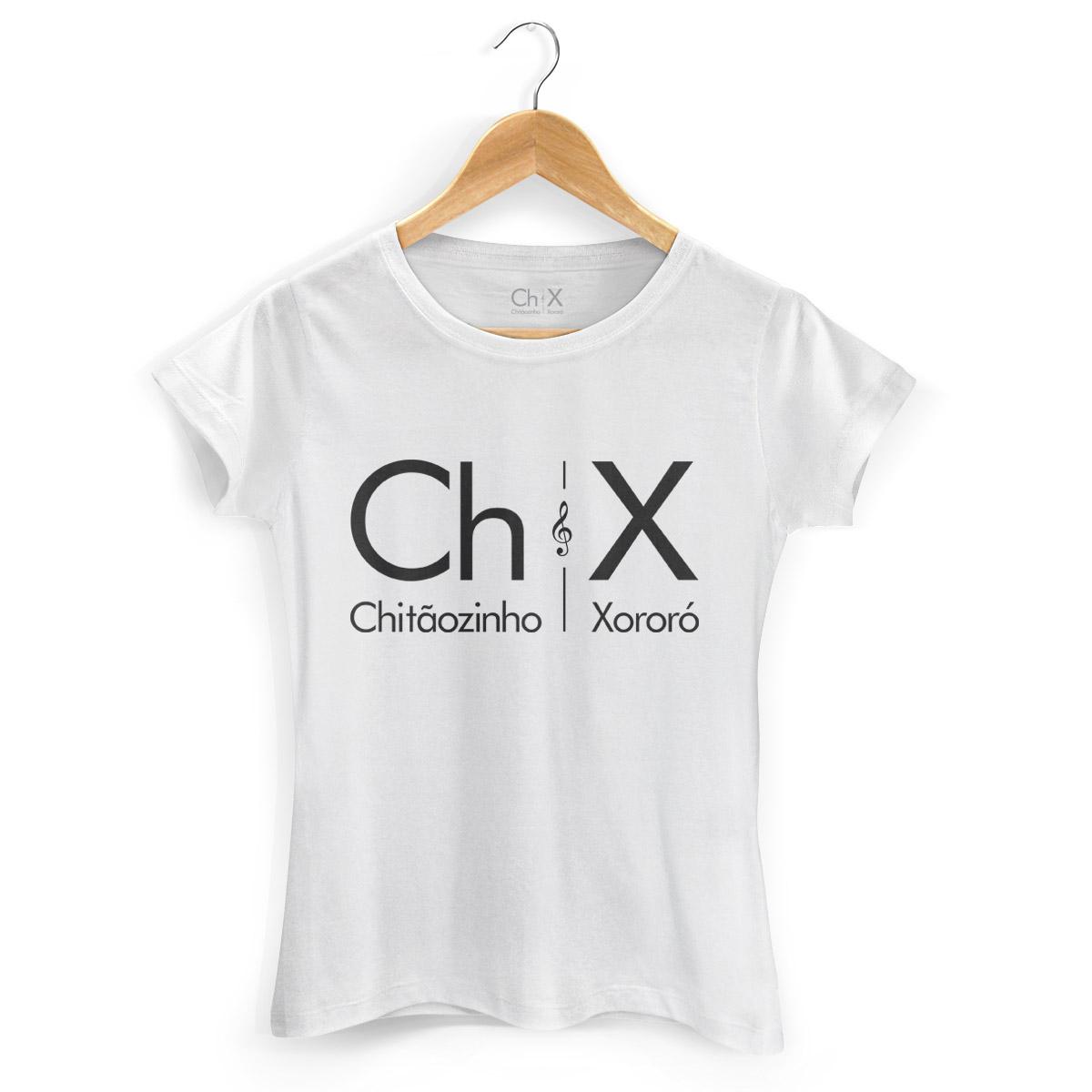 Camiseta Feminina Chitãozinho & Xororó Logo