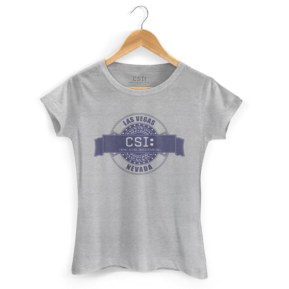 Camiseta Feminina CSI Nevada