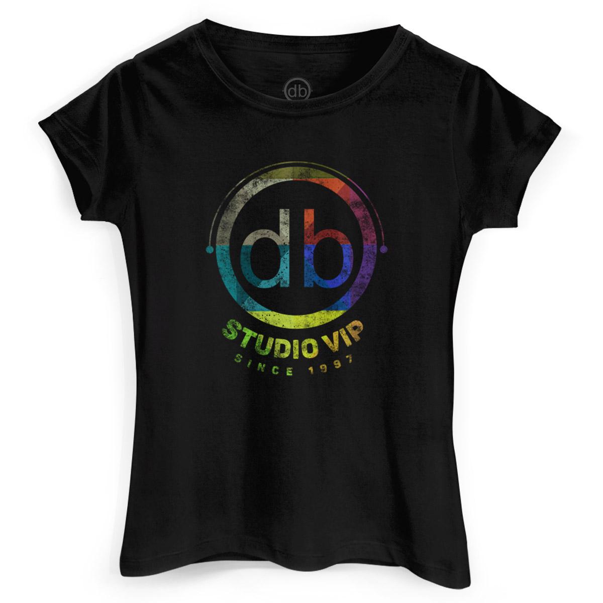 Camiseta Feminina Dudu Borges Studio Vip
