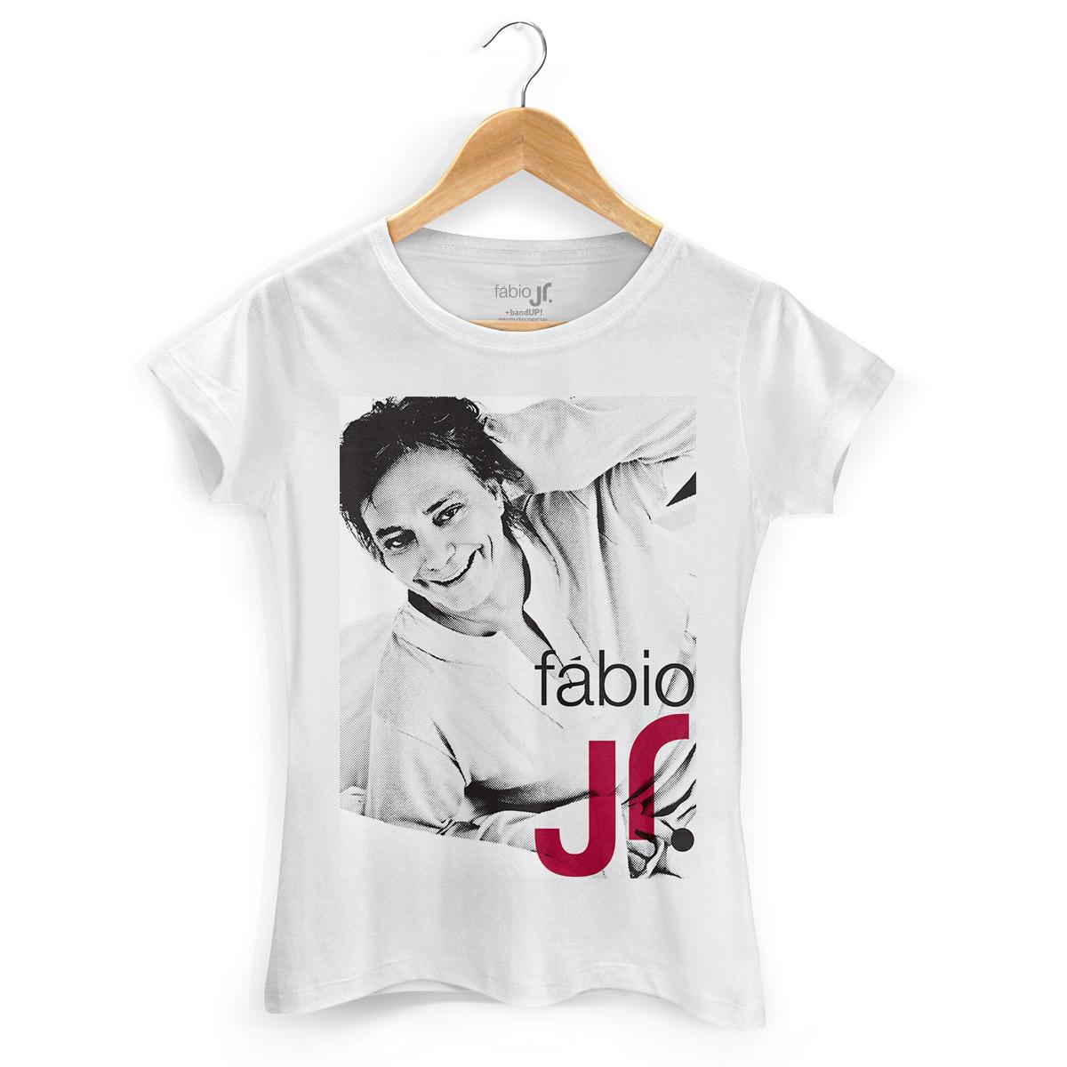 Camiseta Feminina Fábio Junior Modelo 2