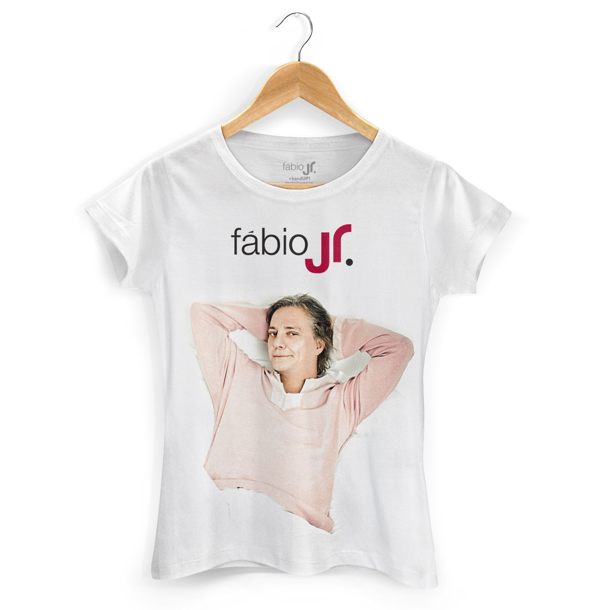Camiseta Feminina Fábio Junior Modelo 4