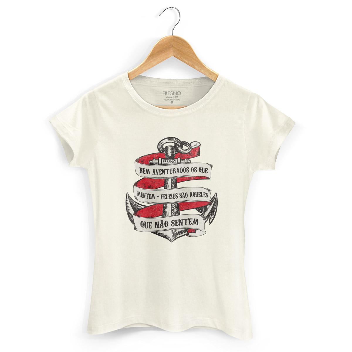 Camiseta Feminina Fresno Bem Aventurados os Que Mentem