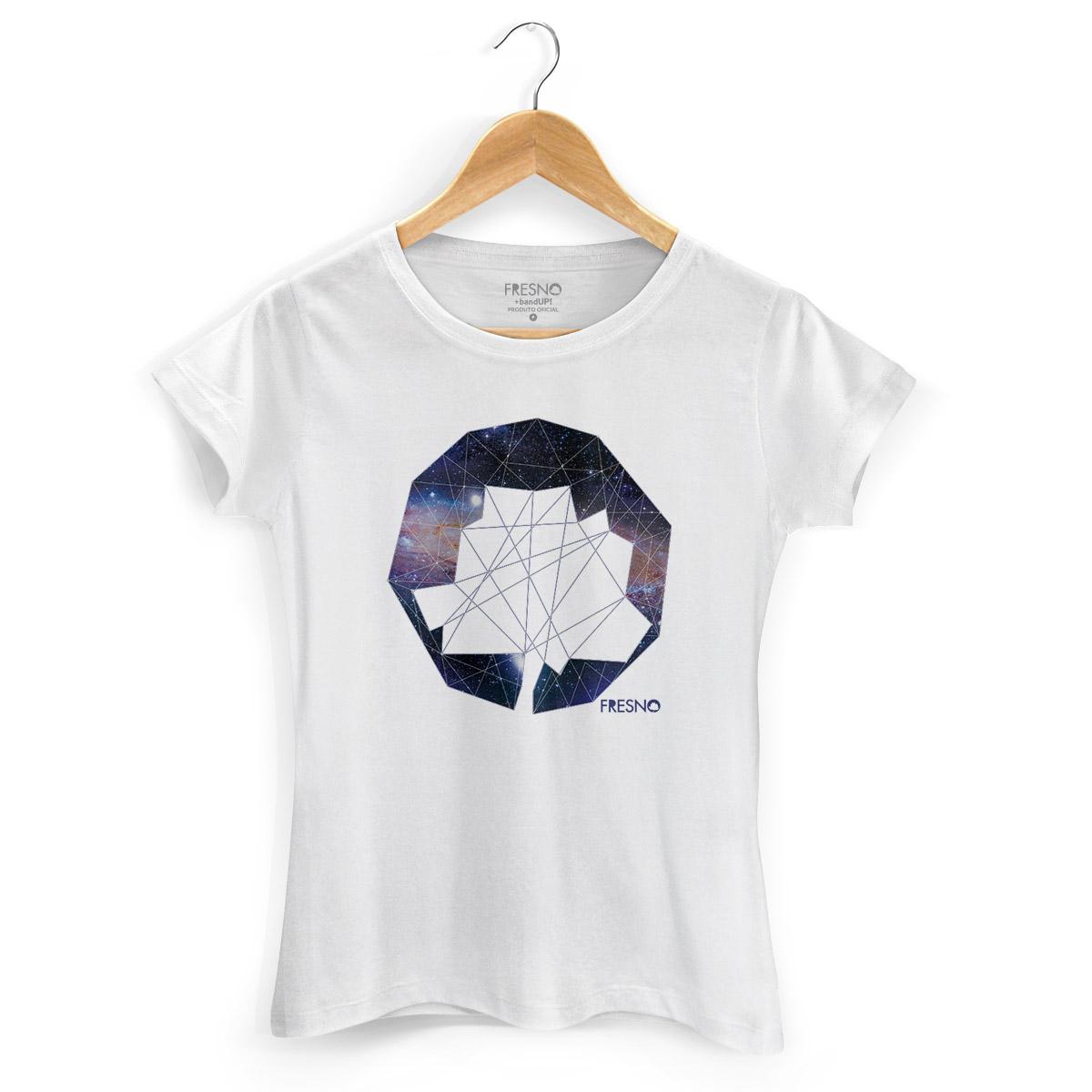 Camiseta Feminina Fresno Logo Galáxias