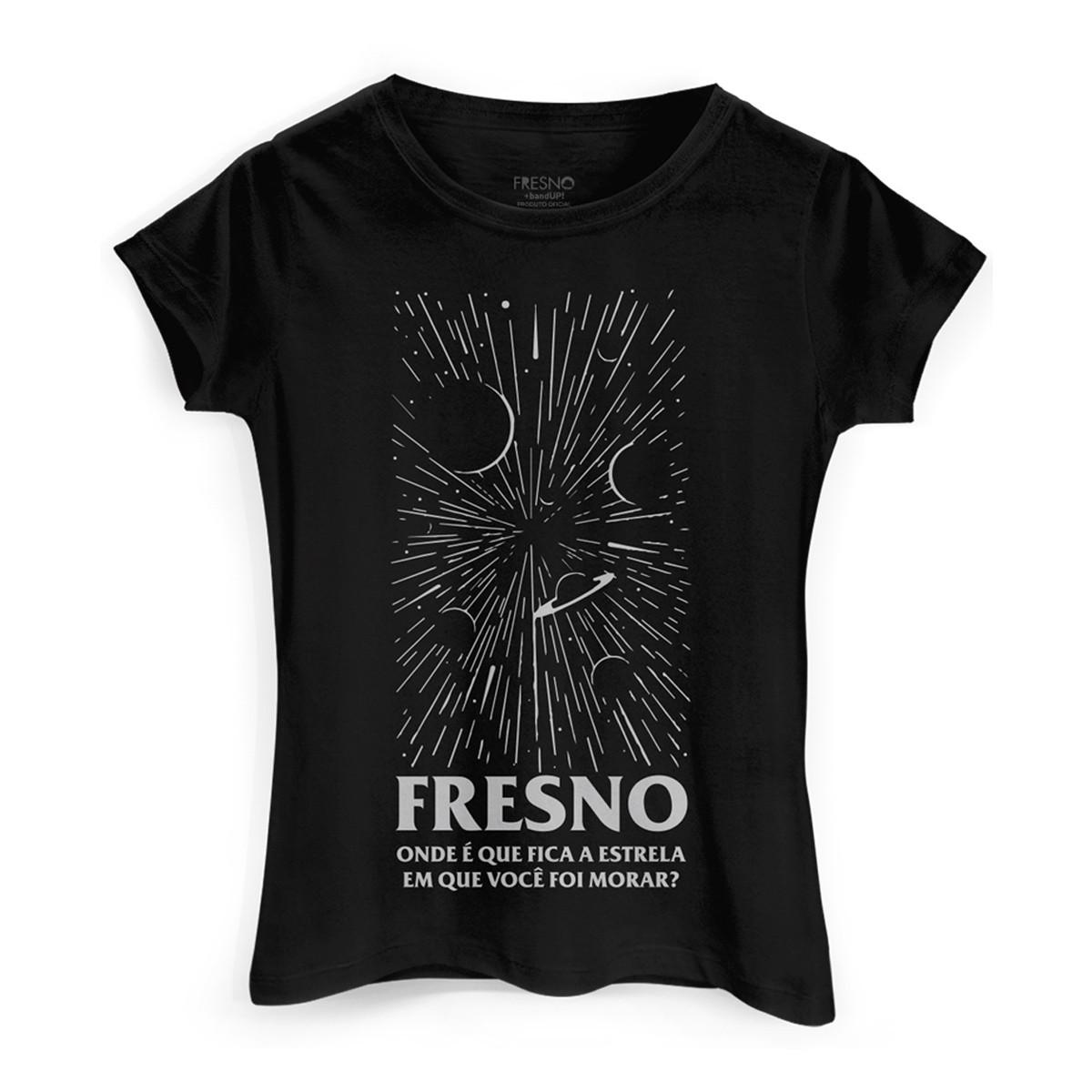 Camiseta Feminina Fresno Onde Fica a Estrela