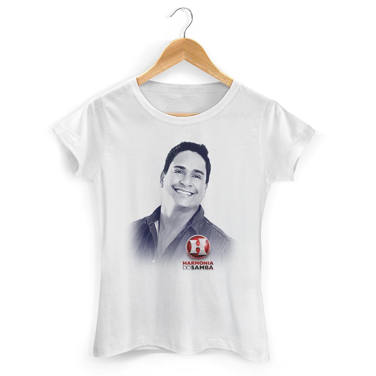 Camiseta Feminina Harmonia do Samba Xanddy