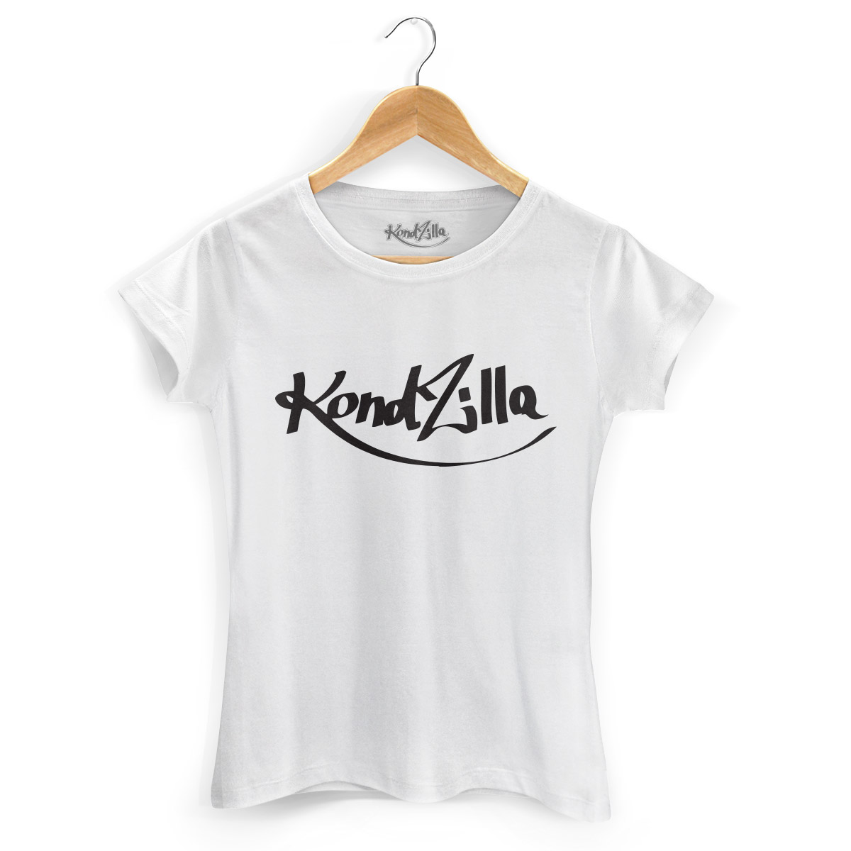Camiseta Feminina Kondzilla Logo