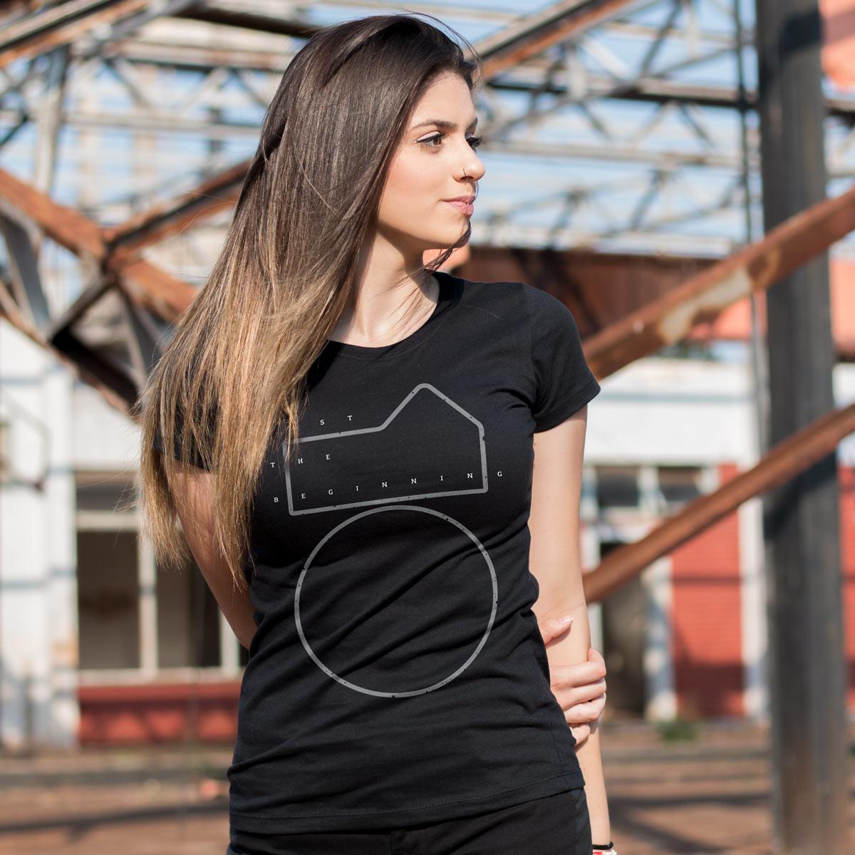 Camiseta Feminina Luan Santana Just The Beginning