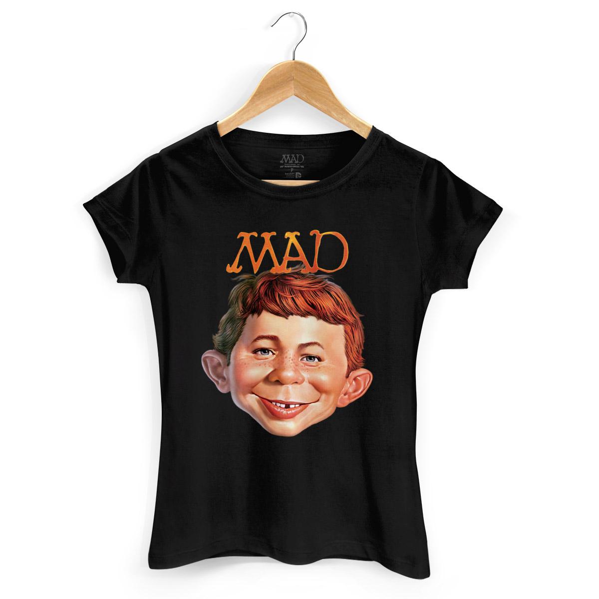 Camiseta Feminina MAD Face 2