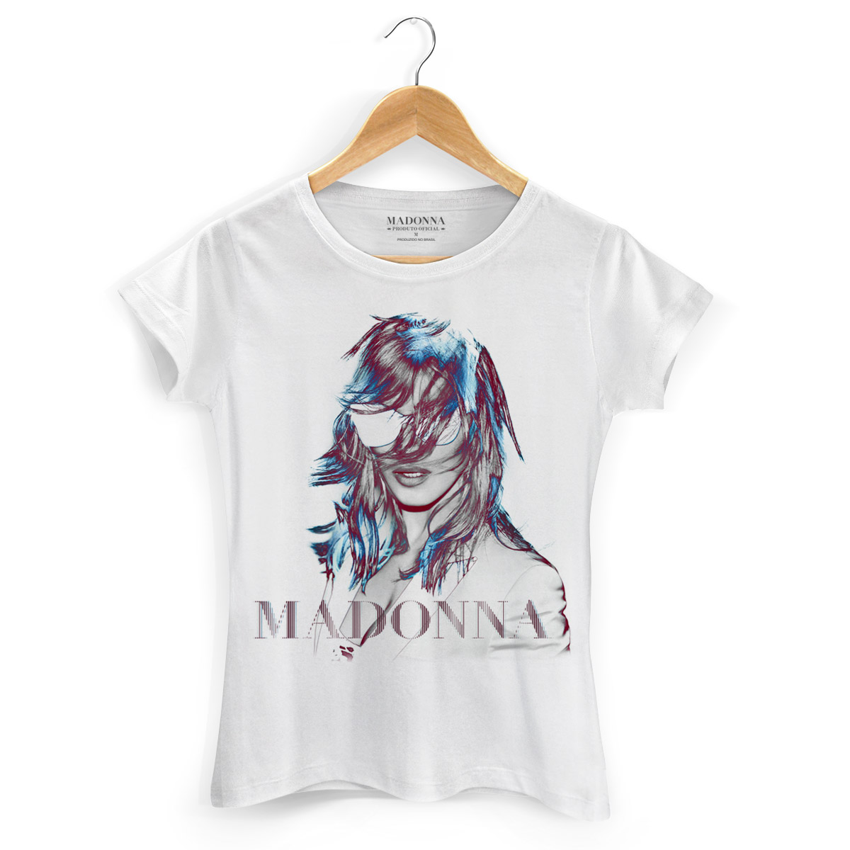 Camiseta Feminina Madonna MDNA Tour Graphic