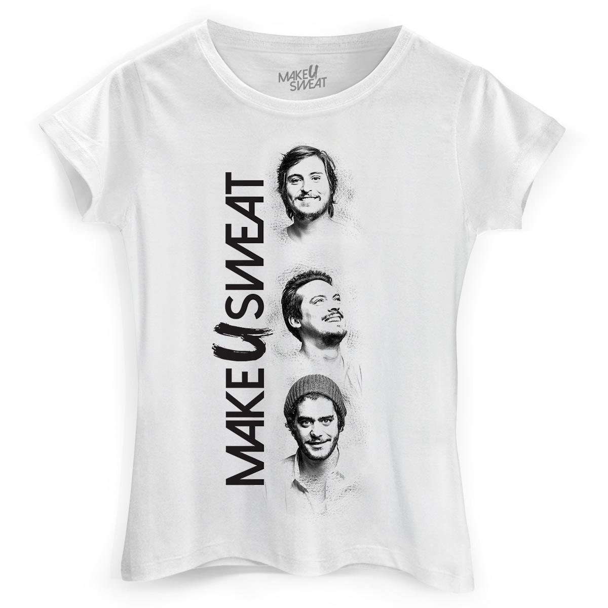 Camiseta Feminina Make U Sweat Trio