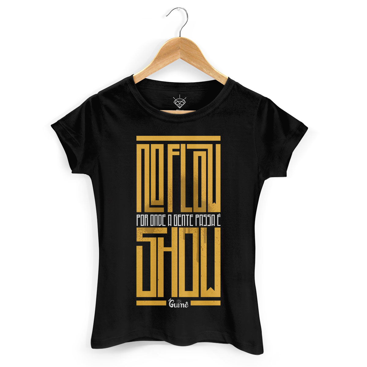 Camiseta Feminina MC Guimê No Flow