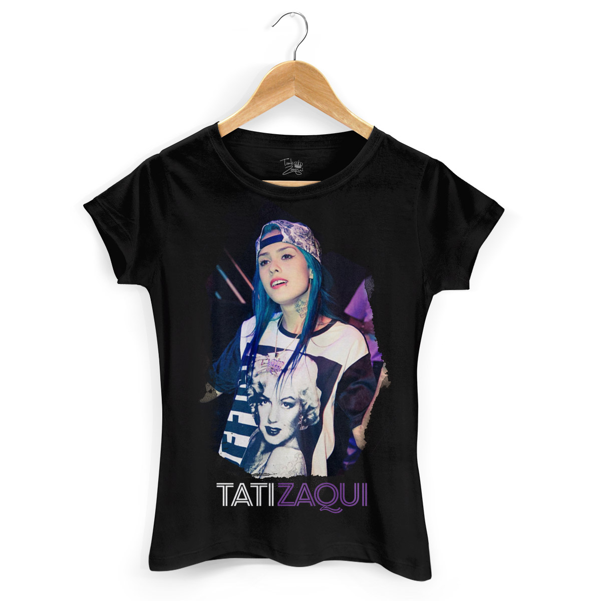Camiseta Feminina MC Tati Zaqui Foto