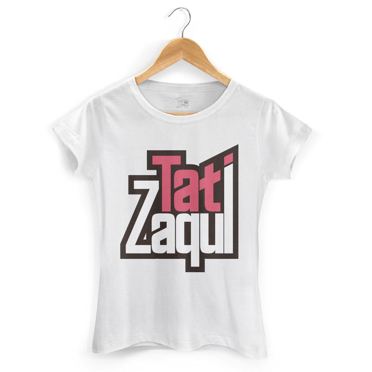 Camiseta Feminina MC Tati Zaqui Logo