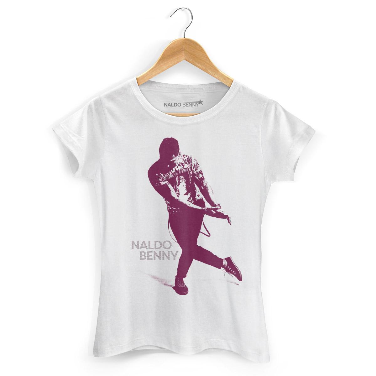 Camiseta Feminina Naldo Benny Se Joga Color