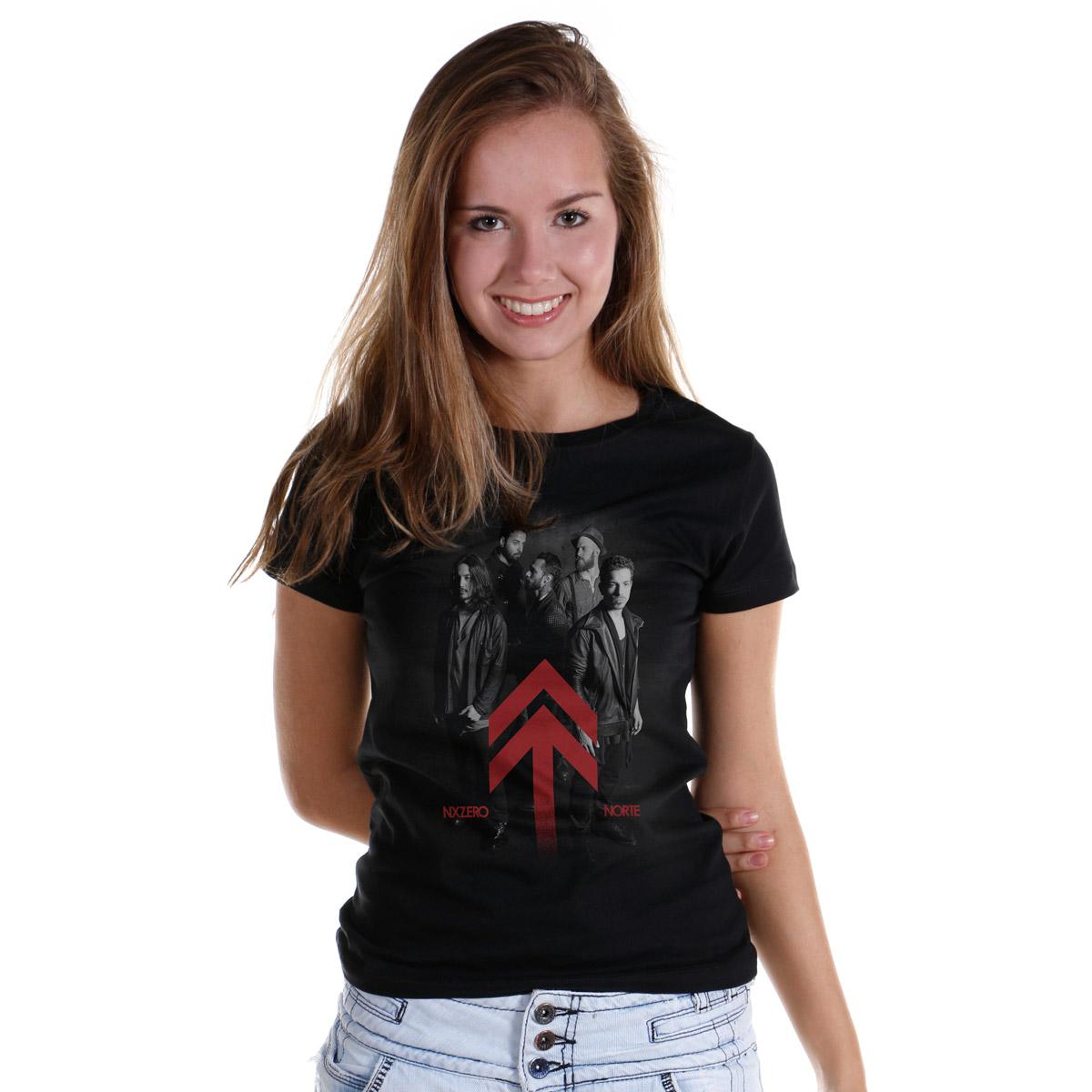 Camiseta Feminina NXZero Norte Foto