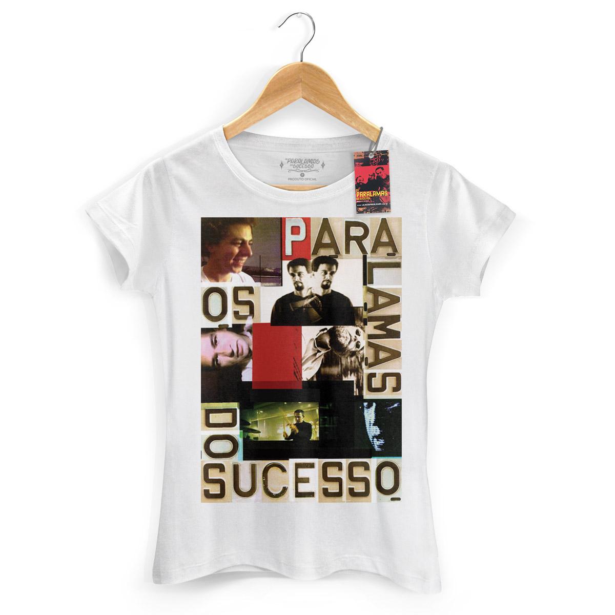 Camiseta Feminina Os Paralamas Do Sucesso Face