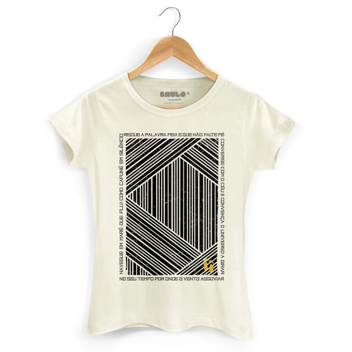Camiseta Feminina Saulo Floresça