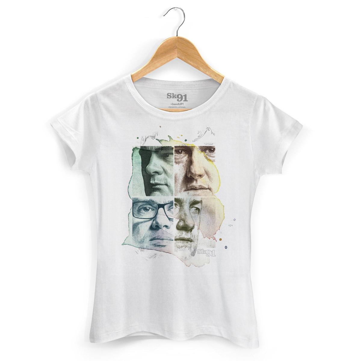 Camiseta Feminina Sk91 Capa