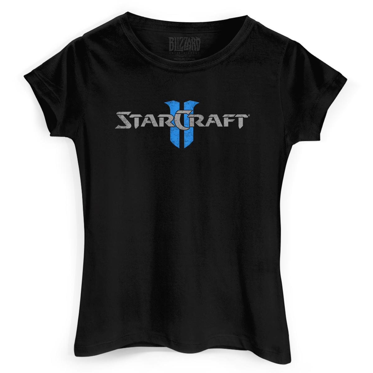 Camiseta Feminina Starcraft 2 Wings of Liberty