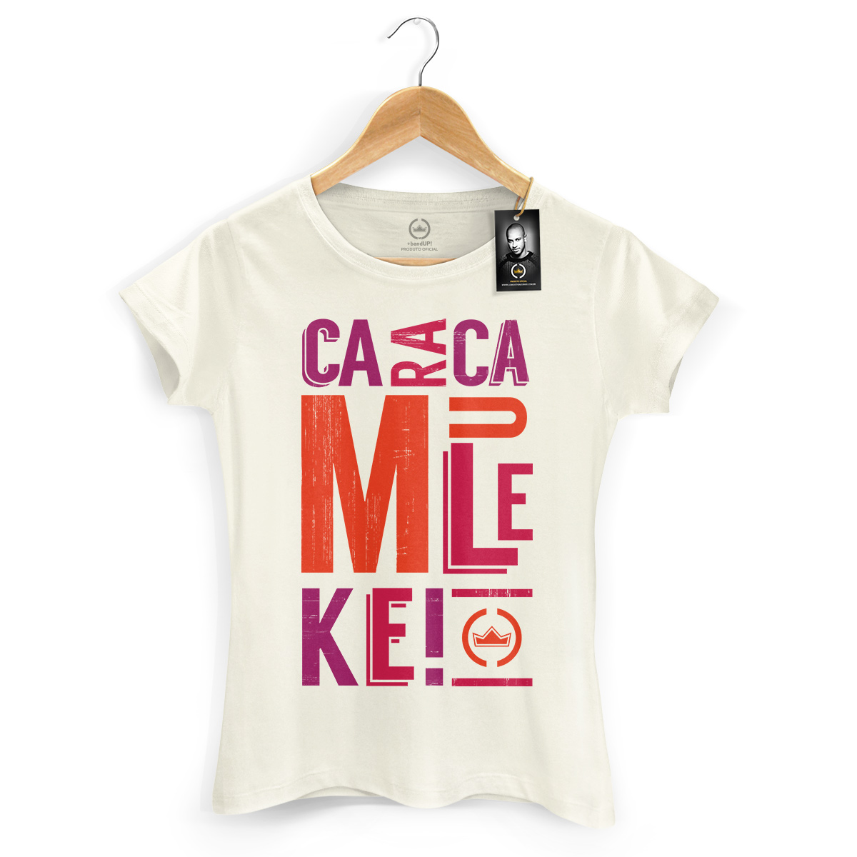 Camiseta Feminina Thiaguinho Caraca Muleke! 2