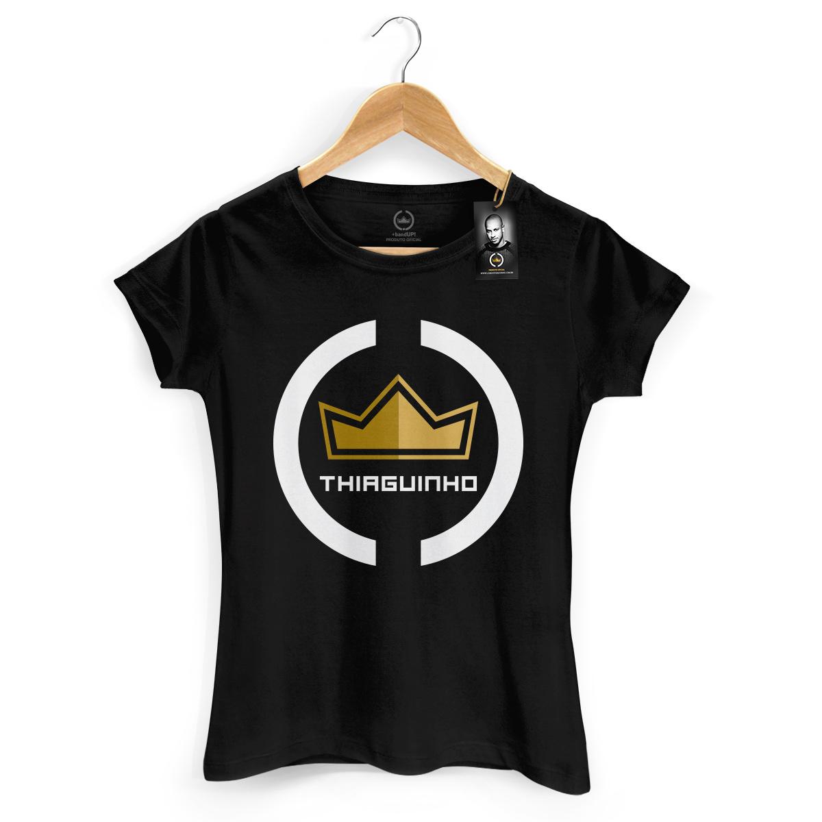 Camiseta Feminina Thiaguinho Coroa