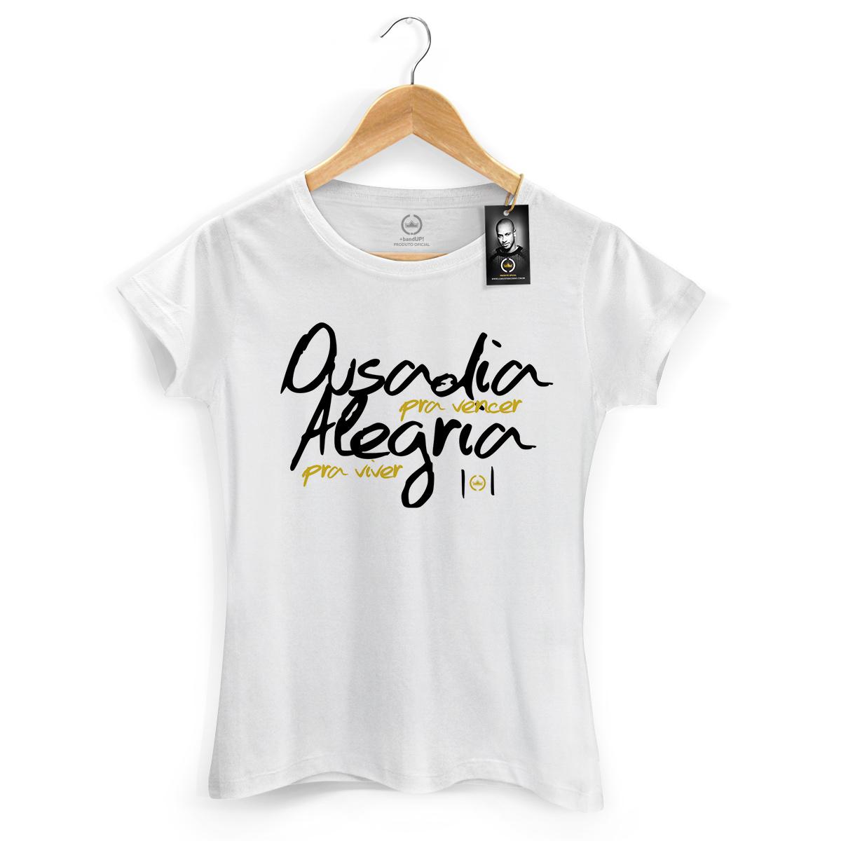 Camiseta Feminina Thiaguinho Ousadia Pra Vencer