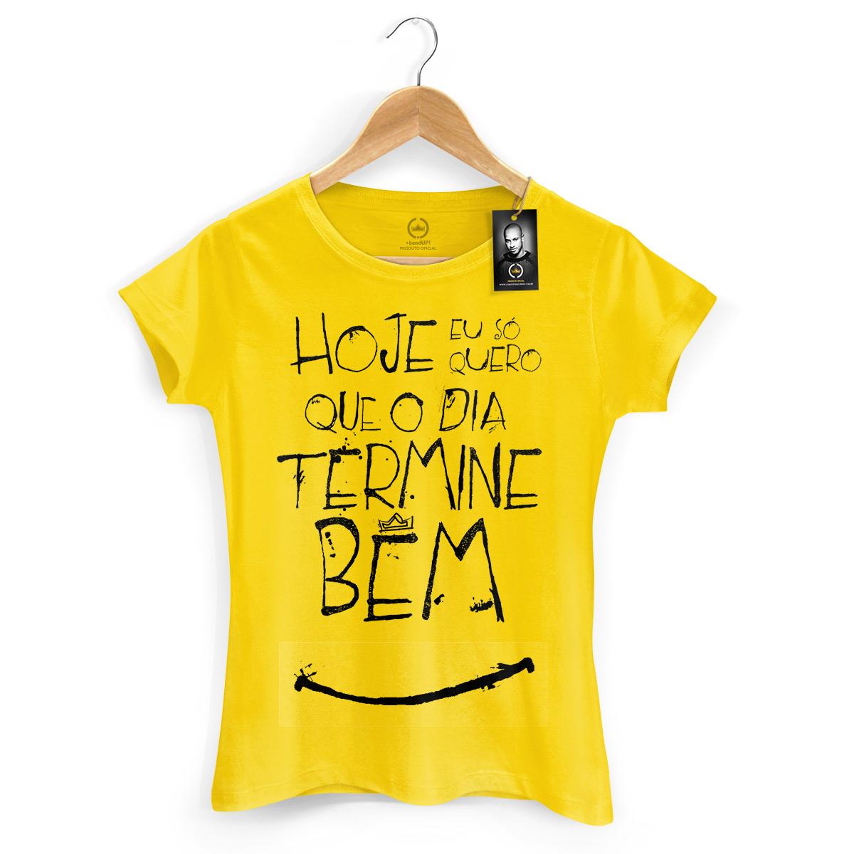 Camiseta Feminina Thiaguinho Simples Desejo