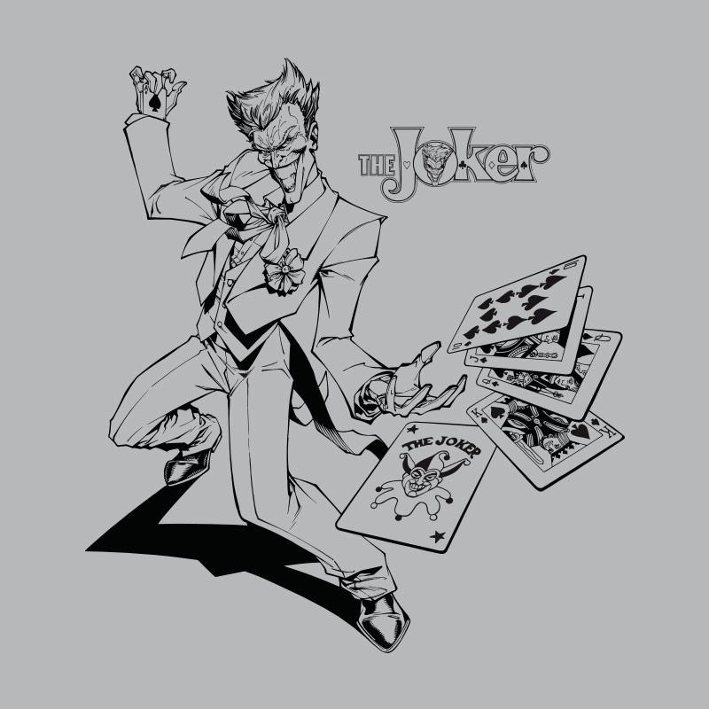 Camiseta Feminina Tracing The Joker