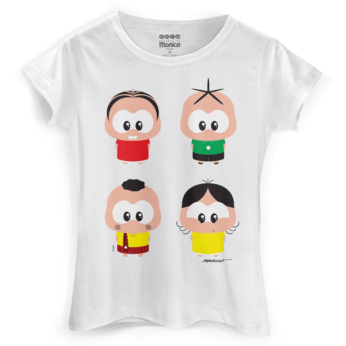 Camiseta Feminina Turma da Mônica A Turma Toy