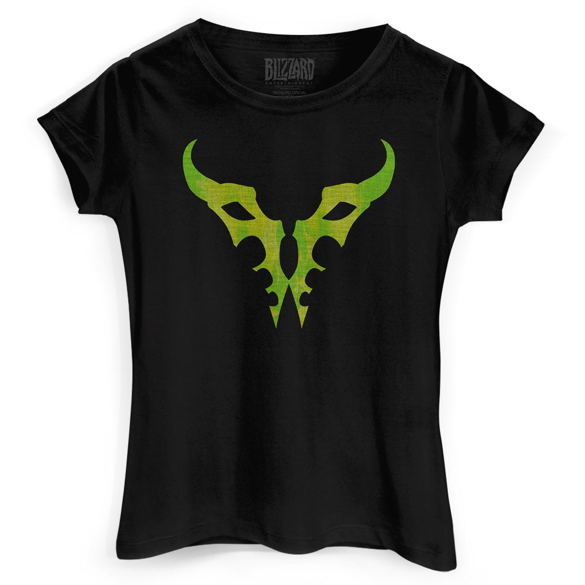 Camiseta Feminina World of Warcraft Burning Legion