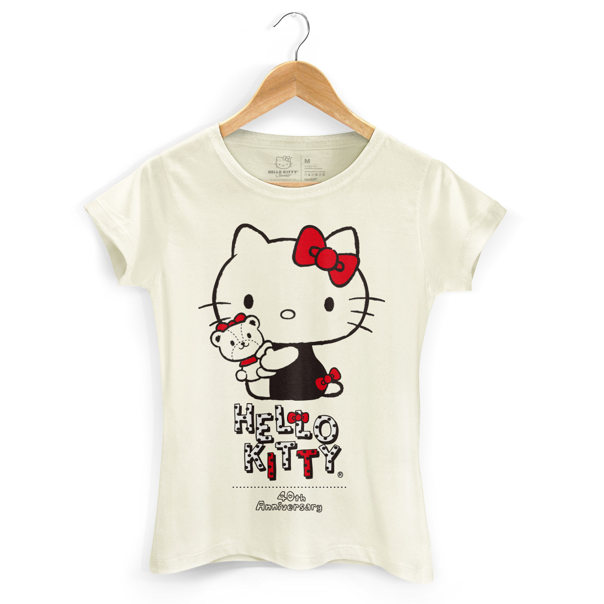 Camiseta Hello Kitty 40th Ribbon