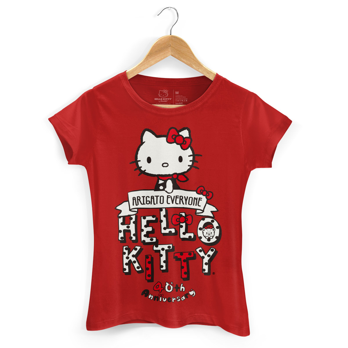 Camiseta Hello Kitty Arigato Everyone 2
