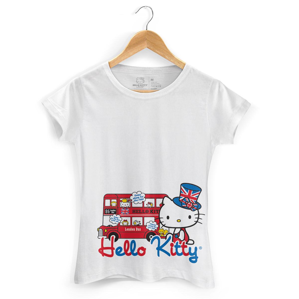 Camiseta Hello Kitty London Bus