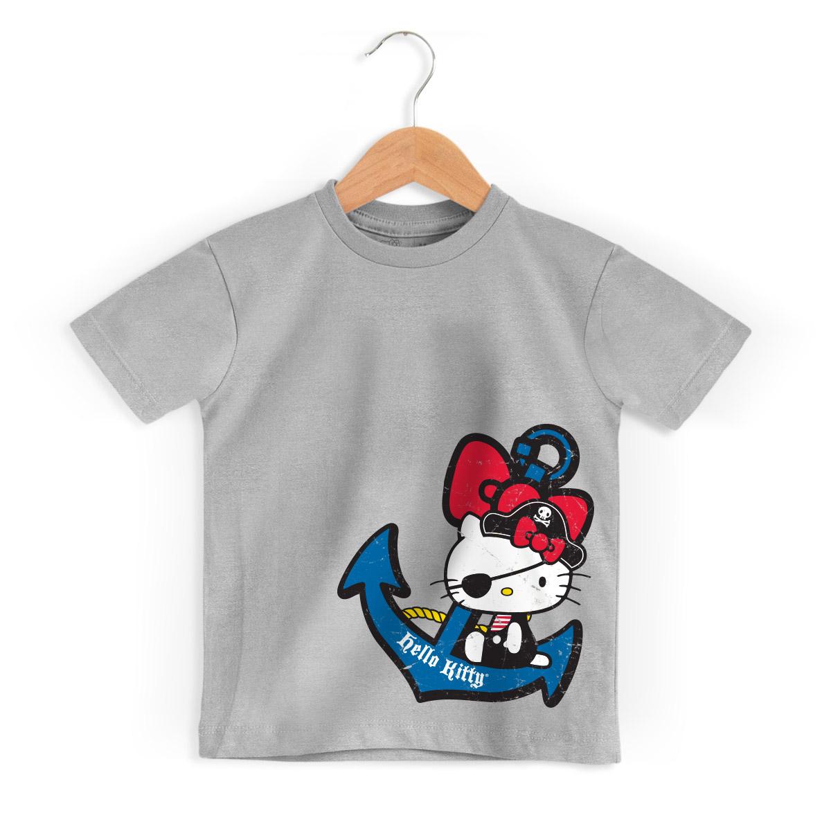 Camiseta Infantil Hello Kitty Pirate 2