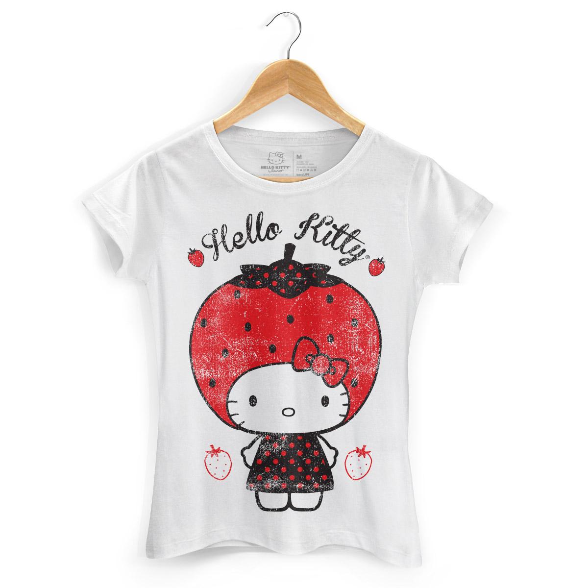 Camiseta Hello Kitty Strawberry