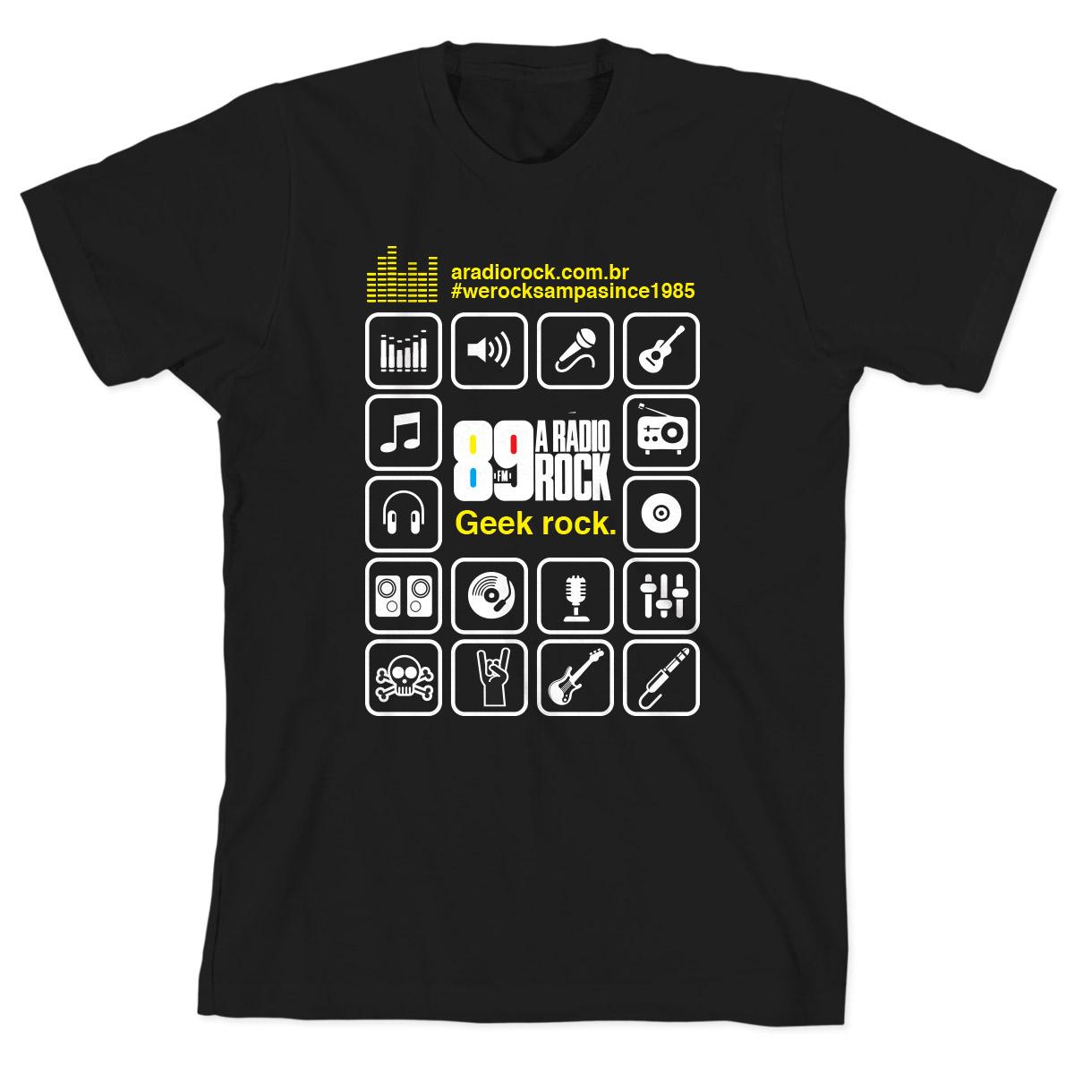 Camiseta Infantil 89 FM  Ícones