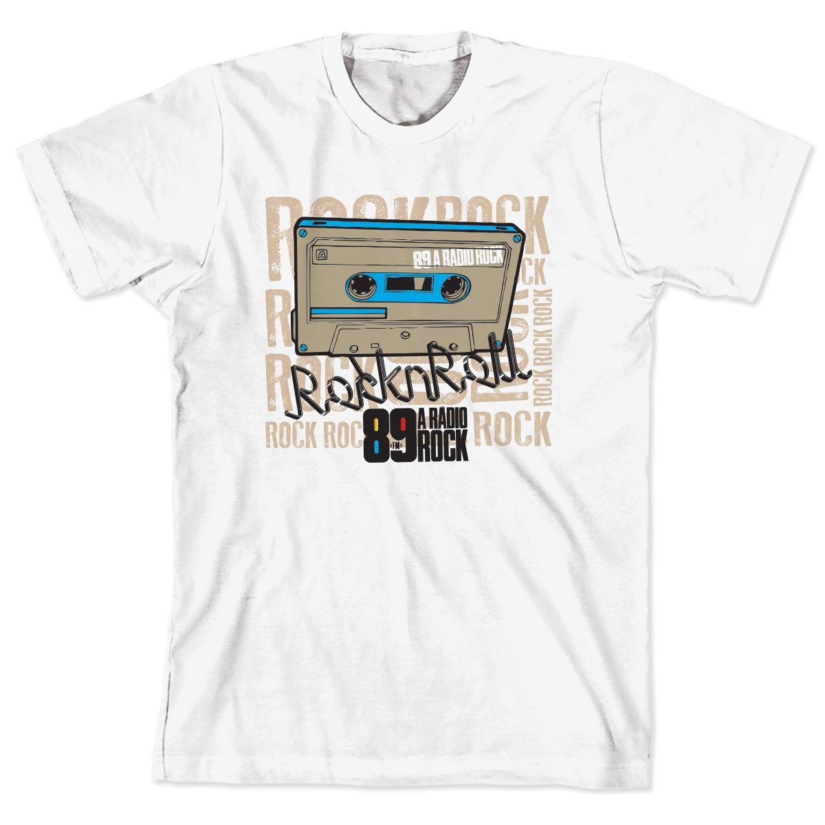 Camiseta Infantil 89 FM - Rock n Roll