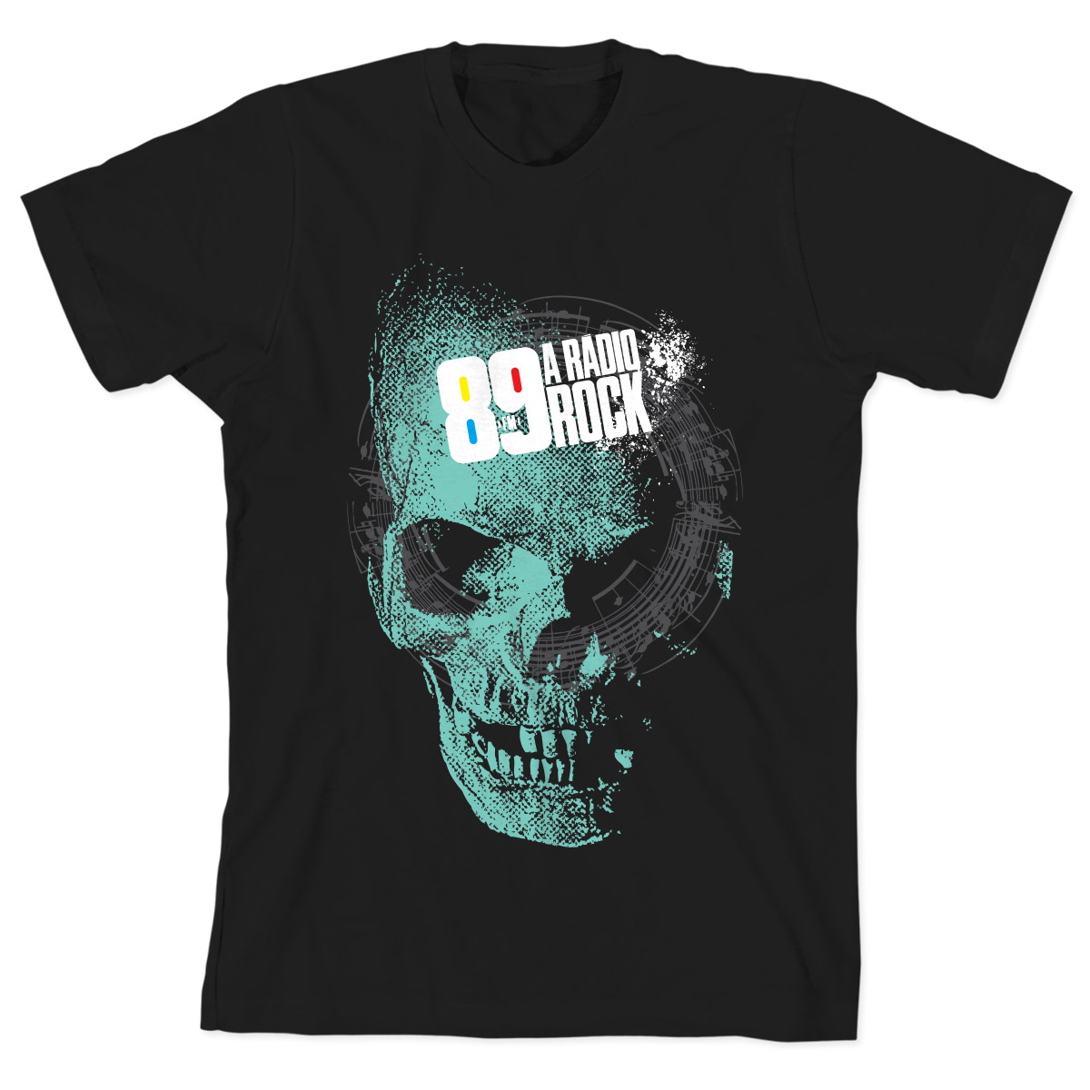 Camiseta Infantil 89 FM - Skull Modelo 2