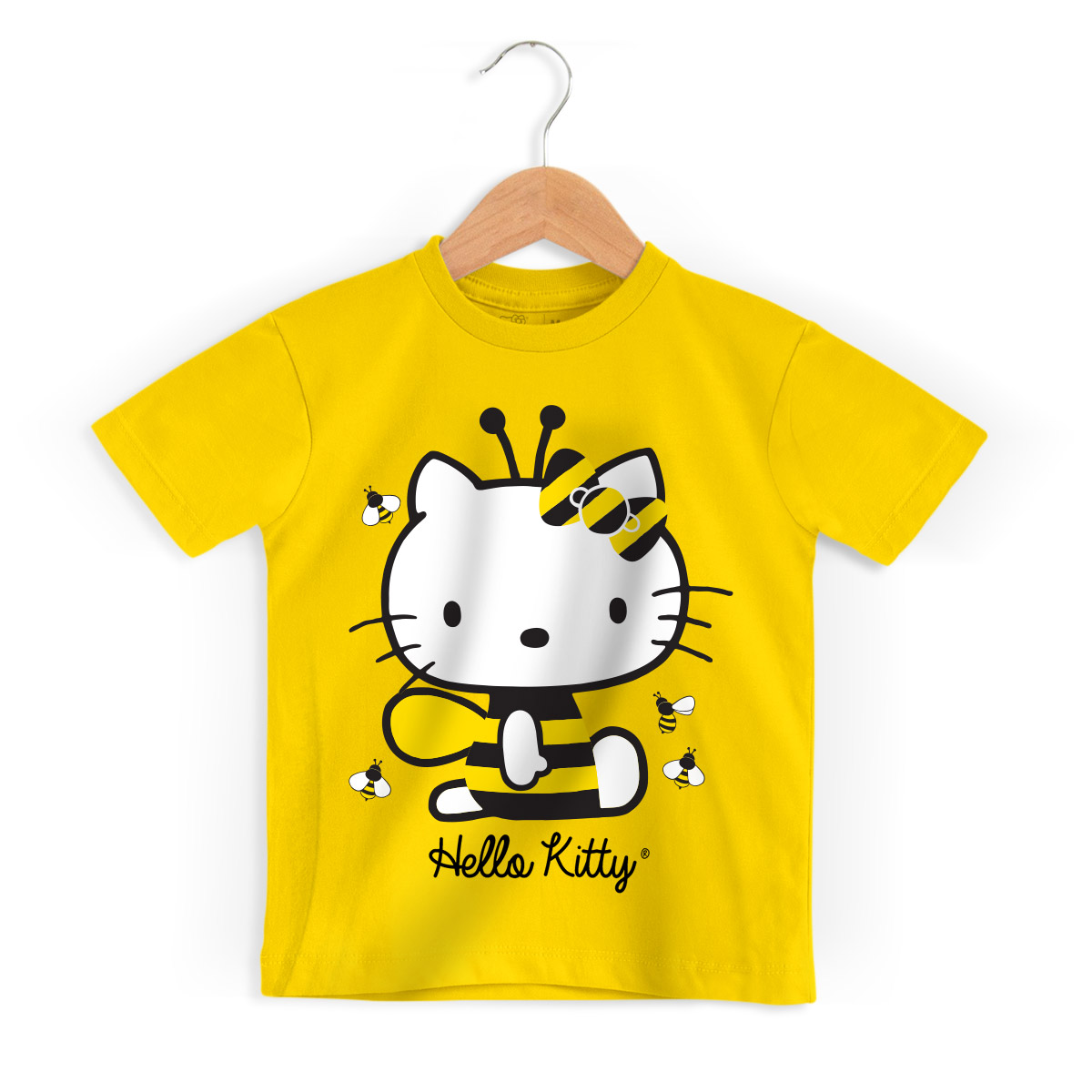 Camiseta Infantil Hello Kitty Bee